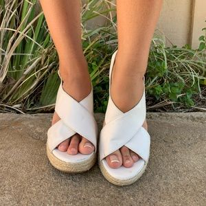 american eagle sandal wedges